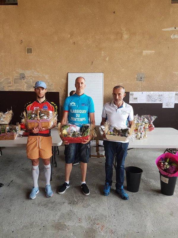 Challenge de printemps 2018 FSGT 31.Classement final après la 6° épreuve de la Classique Aussonne-Aussonne
