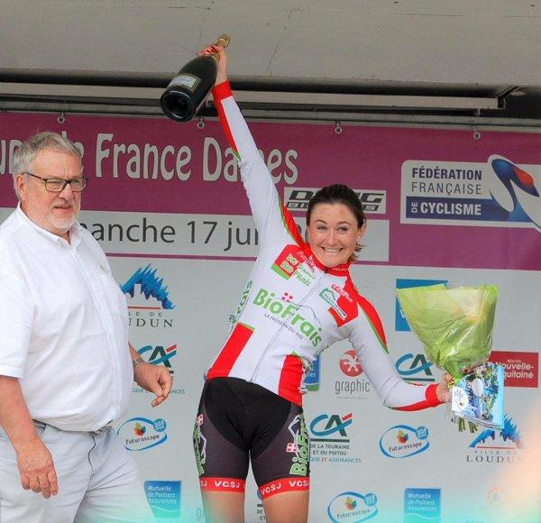 Loudun(86).12° Classic Féminine Vienne-Nouvelle-Aquitaine.3° Manche de la Coupe de France-Drag Bicycles.Loudun-Loudun 100,1 km.Dimanche 17 juin 2018