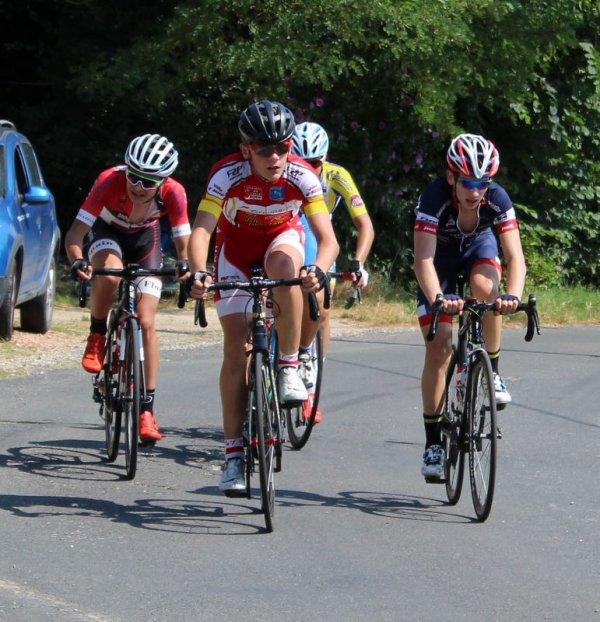 LAVAUR(81).Tour du Tarn Cadets.6° Etape Lavaur - Lavaur 61 Km.Cadets + Dames.Samedi 14 Juillet 2018