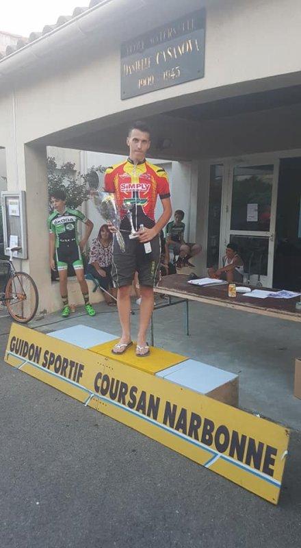 Coursan(11).Grand Prix de Coursan.FSGT 1,2,3,4,5,J,C,F.Dimanche 15 juillet 2018