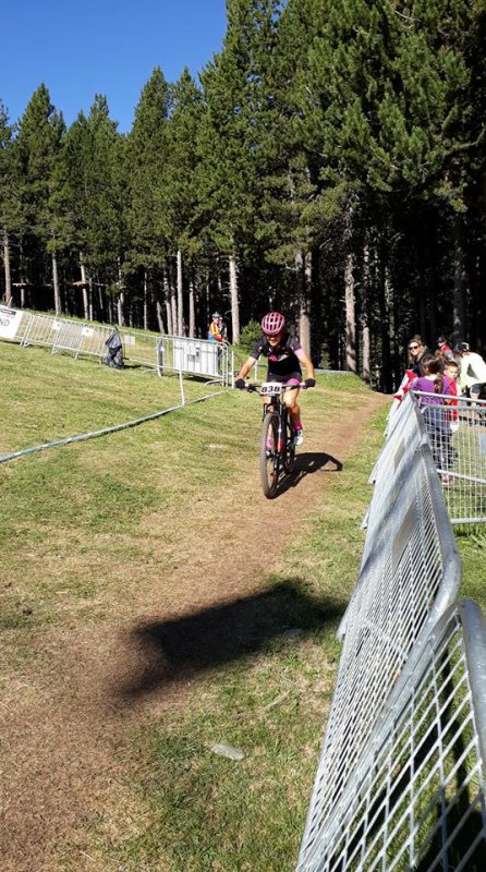Andorre(Principauté d'Andorre).Vallnord Bike Park à La Massana.Championnat du monde Master VTT 35-39 ans UCI 2018.Mercredi 18 juillet 2018