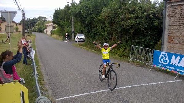 Le Born(31).PRIX DE LA MUNICIPALITE.Challenge Marie Prégno.école de vélo.Samedi 21 Juillet 2018