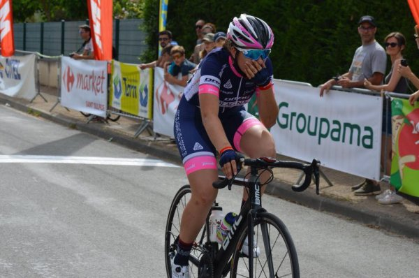 ChâtelGuyon(63).Tour d'Auvergne Féminin.Finale de la Coupe de France Minimes Cadettes.1° étape Contre La Montre individuel 4,300 km.Samedi 21 Juillet 2018