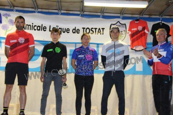 TOSTAT(65).2ème TOSTAT DÉCATHLON CHALLENGE Cyclo Cross UFOLEP 1/2/3/GS/FEM/C/M/VTT.Samedi 21 Juillet 2018