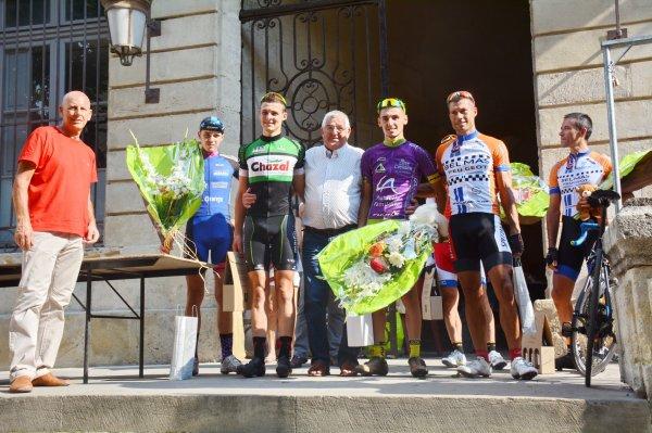 UZES(30).62° Grand Prix de la Ville d'Uzès.2° 3° Juniors PCO. 84 km.Dimanche 05 août 2018