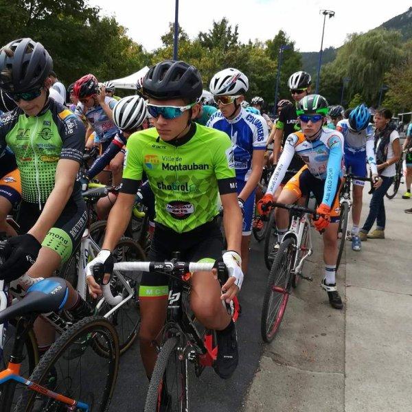 Mende(48).13° Cyclo Cross de Mende.Trophée Occitanie Cyclo Cross.Cadets H/F.Dimanche 16 septembre 2018