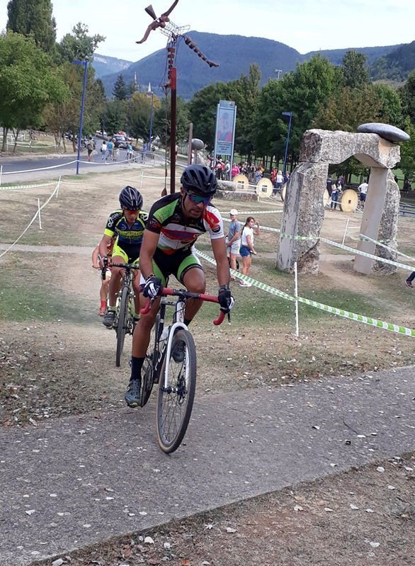 Mende(48).13° Cyclo Cross de Mende.Trophée Occitanie Cyclo Cross Séniors H.Dimanche 16 septembre 2018