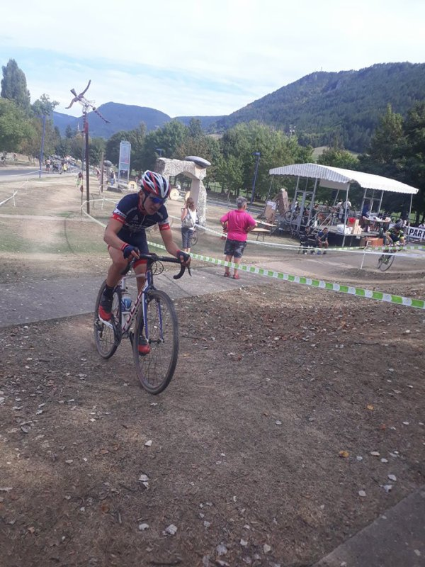Mende(48).13° Cyclo Cross de Mende.Trophée Occitanie Cyclo Cross Juniors H.Dimanche 16 septembre 2018