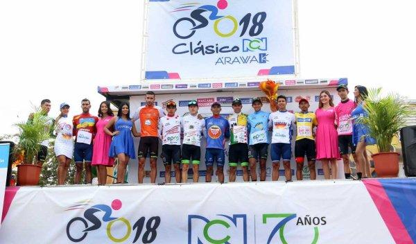 Cali(Col).70 ans Clásico RCN UCI National.1° étape  Agua Blanca-Cali - Agua Blanca-Cali 28,2 km.Vendredi 21 Septembre 2018
