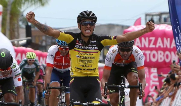 Cali(Col).70 ans Clásico RCN UCI National.2° étape Cali(Valle del Cauca)-Armenia (Cordoba) 181,7 km.Samedi 22 Septembre 2018