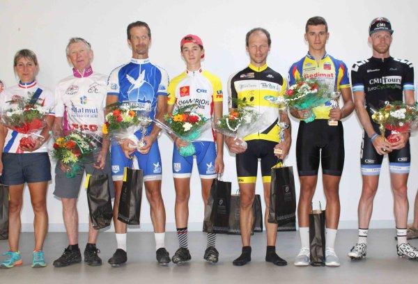PAULHAC(31).Grand Prix Cycliste de Paulhac.Challenge d'Automne FSGT 1 2 3 4 5 J F C.Dimanche 23 Septembre 2018