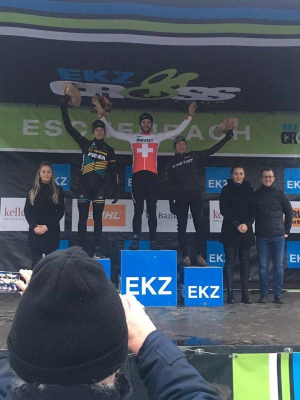 Eschenbach(Sui).Cyclo-Cross - 4° Manche EKZ Cross Tour UCI C1.Elite men,Elites et Juniors Femmes.Dimanche 9 décembre 2018