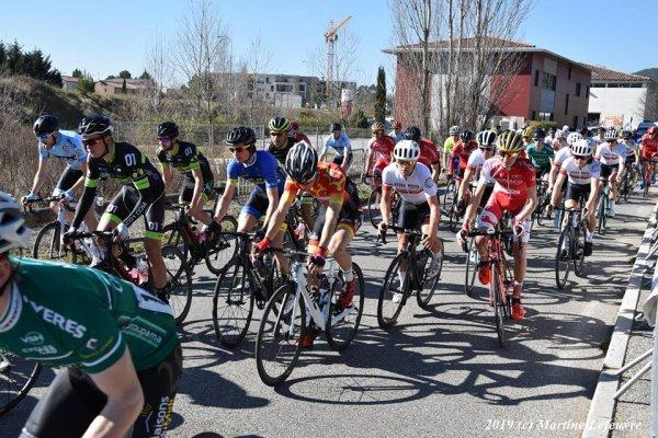 Brignoles(83).Tour du Centre-Var.Brignoles - Brignoles 114 km.Toutes catégories.Samedi 16 février 2019
