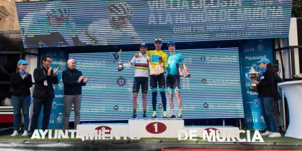 Murcia(Esp). 39° Vuelta Ciclista a la Región de Murcia Costa Cálida UCI 2.1.2° étape Beniel - Murcia 180.3 km.Samedi 16 février 2019