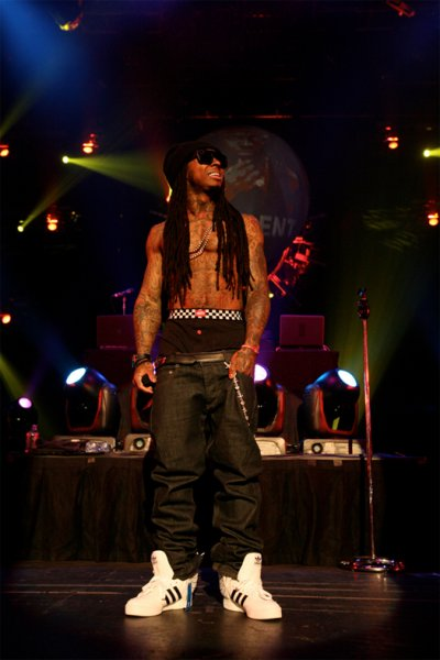 Lil wayne Free welcome home................................He Was in Las vegas