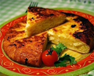 omelettes espagnol (tortilla)