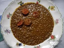 lentejas (ou lentille aux chorizo)
