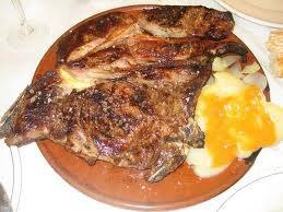 Carne à la plancha