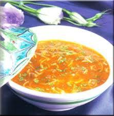 Soupe de poivrons