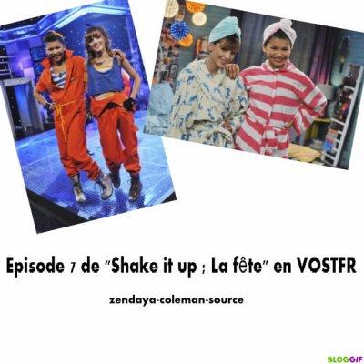 """Episode 7 de """"Shake it up"""" en VOSTFR"""