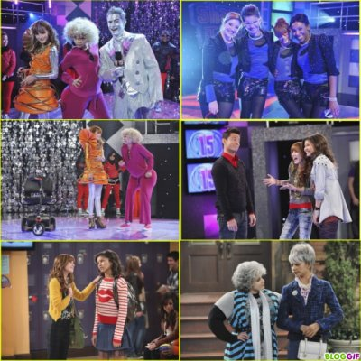 "Stills de l'épisode 15 de ""Shake it up;Reunion it up"""