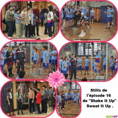 """Stills et info sur l'épisode 16 de """"Shake It Up,Sweat It Up"""""""