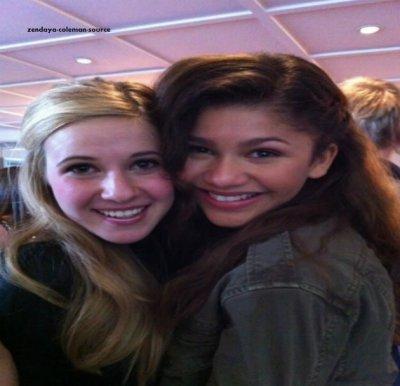 Nouvelle photo de Zendaya et Caroline
