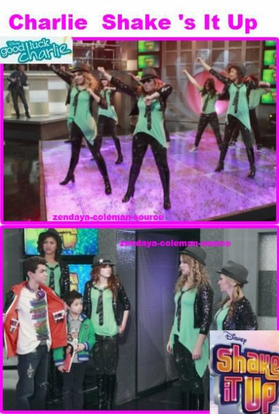 "Stills de l'épisode ""Charlie Shake's It Up"""