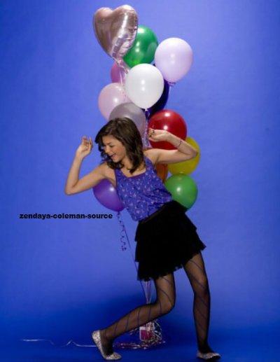 Nouvelle photo de Zendaya lors d'un shoot .
