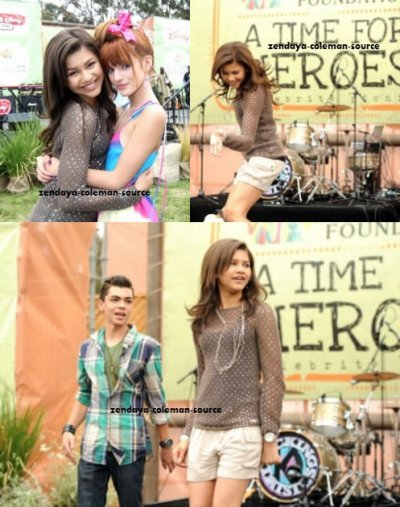 Zendaya au 22ND ANNUAL TIME FOR HEROES CELEBRITY PICNIC SPONSORED BY DISNEY TO BENEFIT THE ELIZABETH GLASER PEDIATRIC AIDS FOUNDATION le 12 juin 2011