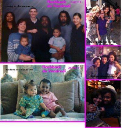 Nouvelle photos Twitter de Zendaya + le flashback du vendredi 2 juillet 2011 plus celui du 24 juin 2011 .