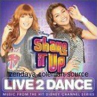 """L'album """"Shake It Up ; Live 2 Dance"""" sortira le 20 Mars 2012 . Sur ce CD il y aura toutes les nouvelles chansons de Shake It Up . J'ai hâte de voir et j'éspère qu'il y aura """"Something to dance for"""" chantée par Zendaya ."""