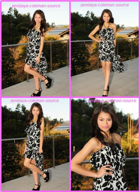 Photoshoot de Zendaya du mois de février . Perso moi j'adore sa robe et ses chaussures =D . Le shoot est vraiment magnifique .