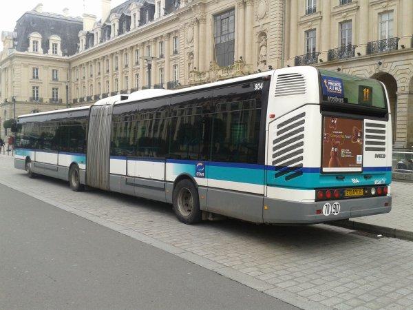irisbus cit lis 18 du star rennes autobus et tramways de brest. Black Bedroom Furniture Sets. Home Design Ideas