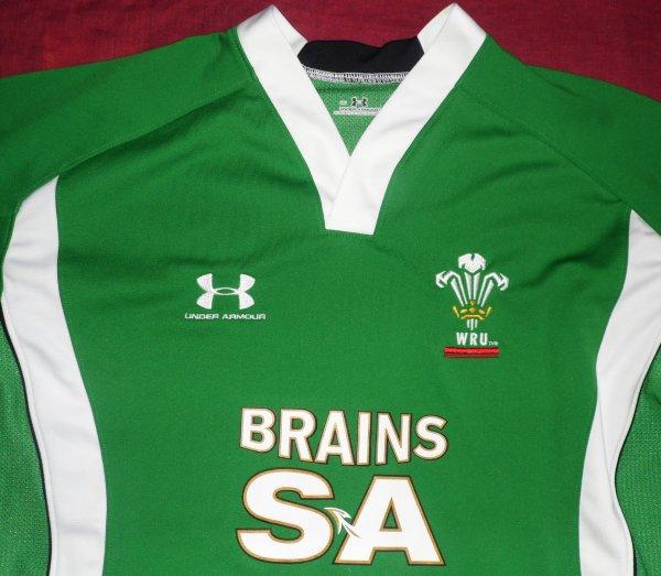 Maillot d'entrainement du Pays De Galles N°21 porté en 2009