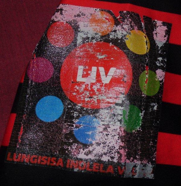 Maillot de match des Saracens N°12 porté en LV Cup saison 2012/2013