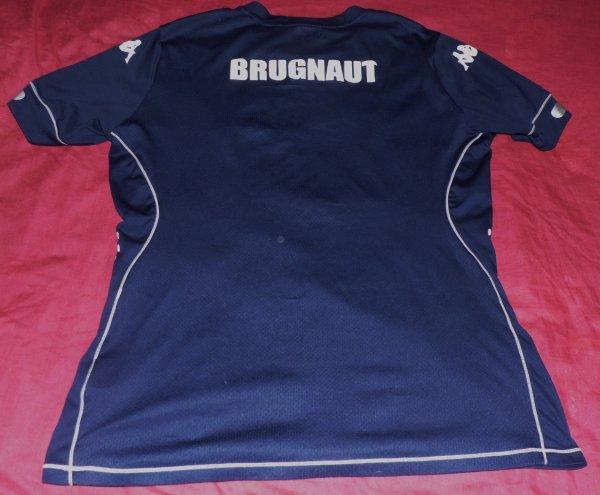 Maillot d'entrainement du Racing porté par Julien Brugnaut
