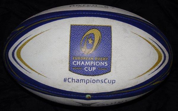 Ballon de match officiel utilisé en Champions Cup