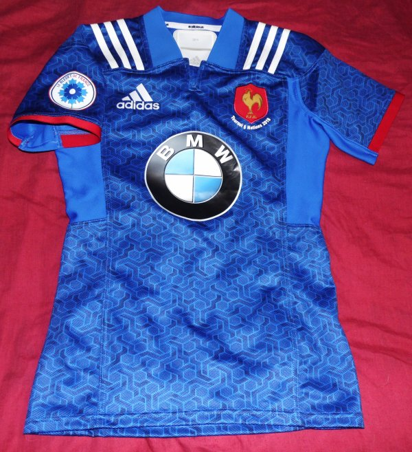 Maillot de match du XV De France -20 ans champion du Tournoi Des 6 Nations 2018