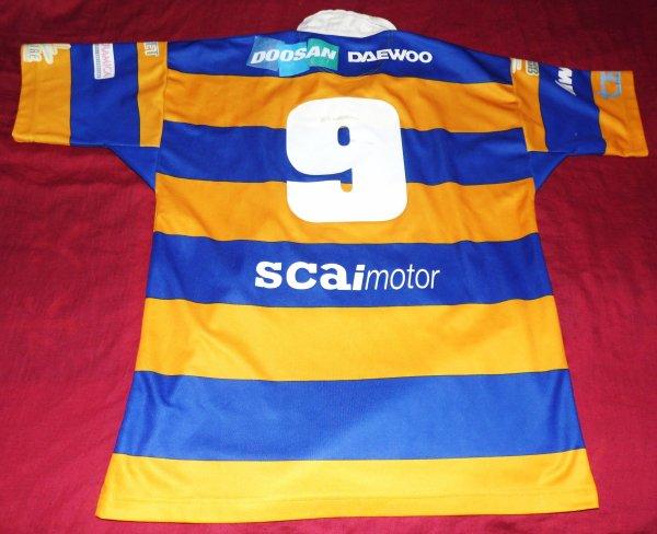 Maillot de match de Parme N°9 porté saison 2005/2006