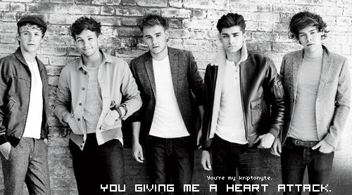 You're my Kriptnite.  -Chapitre 9. You give me a heart attack.