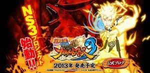 lundi 25 juin : Naruto Shippuden Ultimate Ninja Storm 3 : annonce officielle