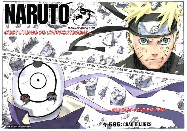 31 juillet : Naruto chapitre 595 Vf