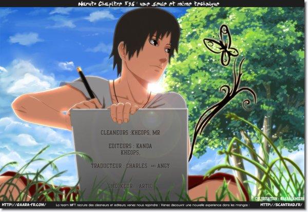 1 aout : Naruto Chapitre 596 vf