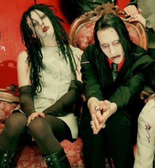 Twiggy Ramirez et Marilyn Manson (Jeordie White et Brian Warner)