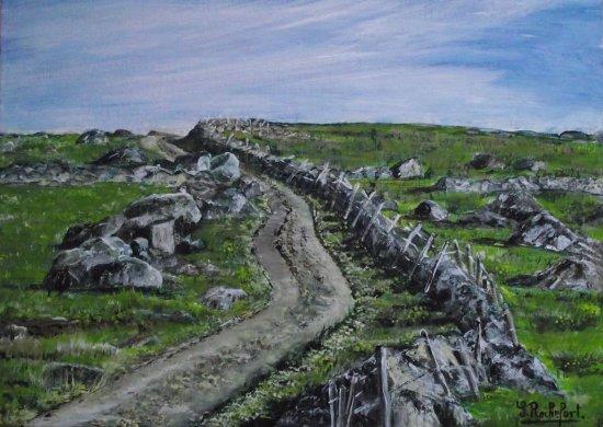 Plateau granitique de l'Aubrac