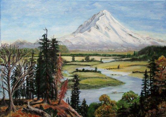 montagne et lac (Albert Bierstad)