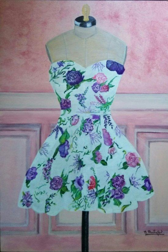 robe sur manequin