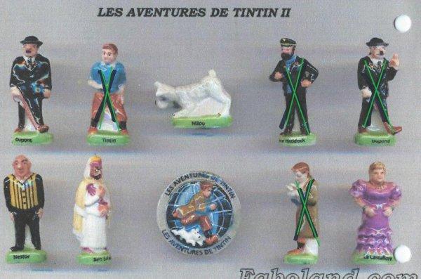 Les aventures de tintin II