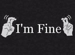Je vais bien..